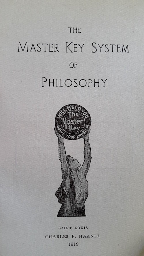 Das Master Key System der Philosophie