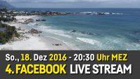 Sonntag, 18. Dez., 20:30: 4. Facebook Live Stream
