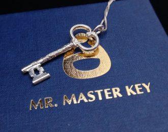 MKS Schlüssel: 925 Silber, inkl. Halskette