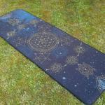 Hermetik Yogamatte Gras